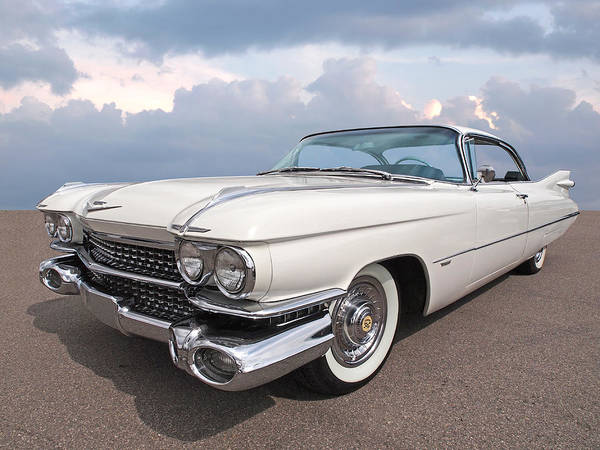 Photograph - 1959 Cadillac by Gill Billington