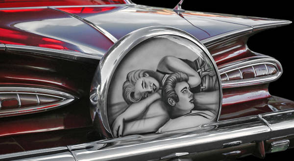 Photograph - 1959 Chevy Impala by Ginger Wakem