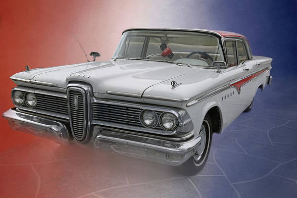 Edsel Photograph - 1959 Edsel by Donna Kennedy