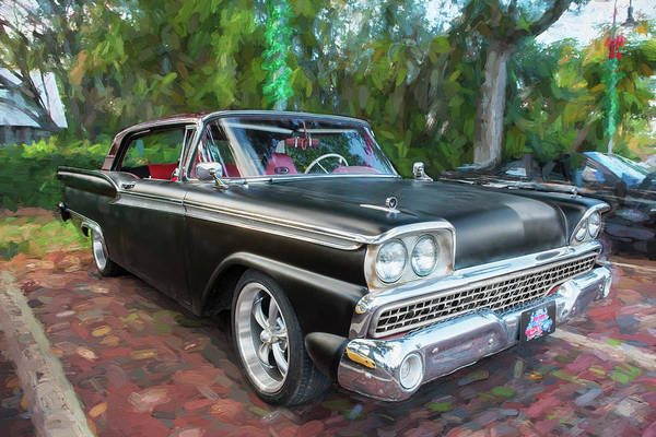 Wall Art - Photograph - 1959 Ford Galaxy C113 by Rich Franco