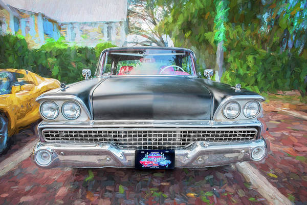 Wall Art - Photograph - 1959 Ford Galaxy C115 by Rich Franco