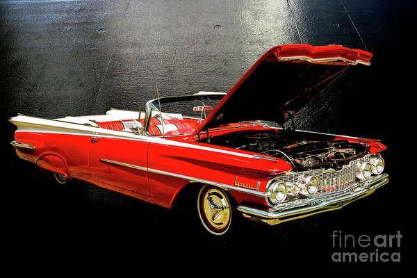 Photograph - 1959 Oldsmobile Convertible 5539.03 by M K Miller