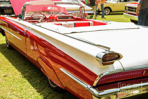 Photograph - 1959 Oldsmobile Convertible 5539.12 by M K Miller