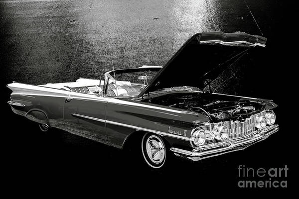 Photograph - 1959 Oldsmobile Convertible 5539.15 by M K Miller