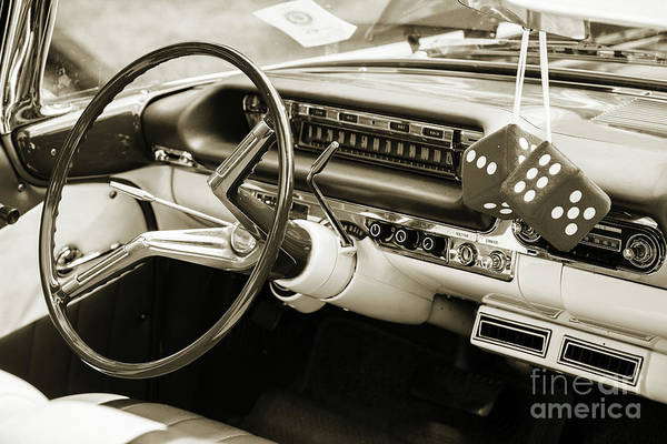 Photograph - 1959 Oldsmobile Convertible 5539.21 by M K Miller