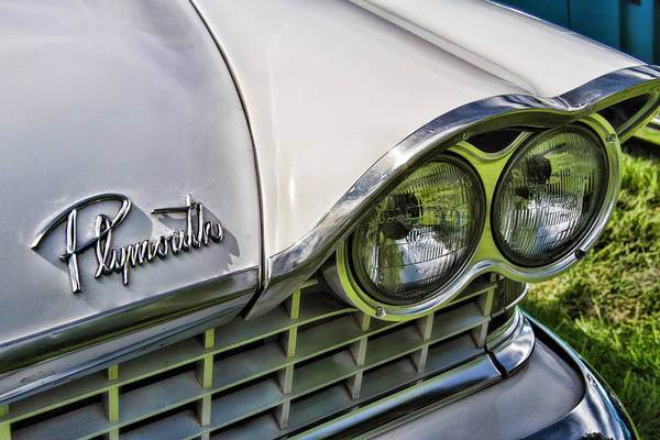 Wall Art - Photograph - 1959 Plymouth Sport Fury by Nick Gray