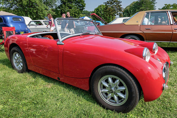 Photograph - 1960 Austin Healey Sprite by Randy Scherkenbach