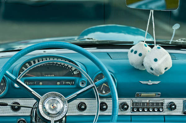 Wall Art - Photograph - 1960 Ford Thunderbird Dash by Jill Reger