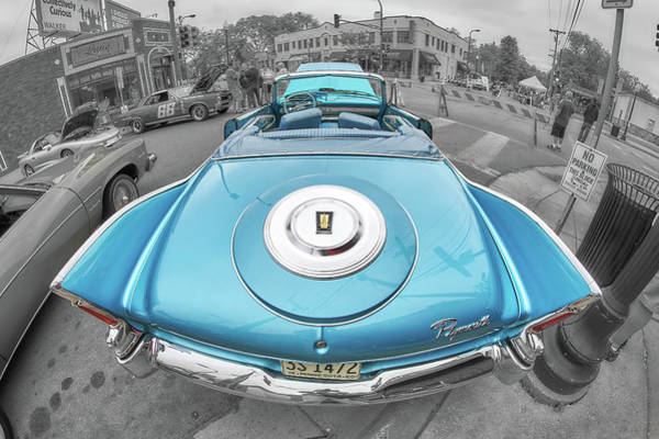 Fins Photograph - 1960 Plymouth Fury by Jim Hughes
