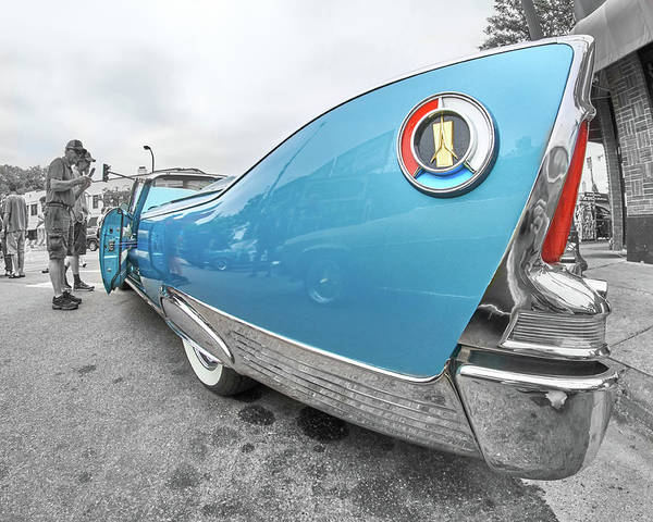 Fins Photograph - 1960 Plymouth Fury Tailfin by Jim Hughes