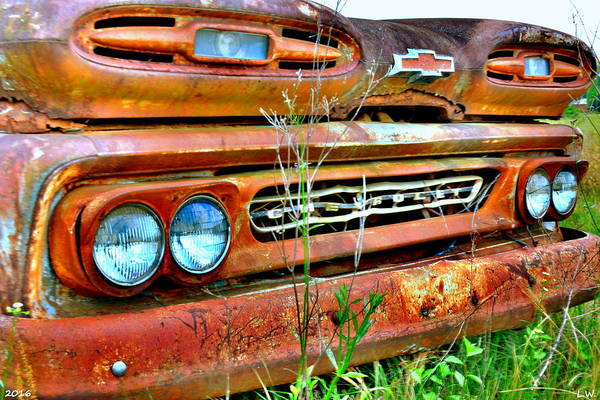 Photograph - 1961 Chevrolet Apache 10 2 by Lisa Wooten