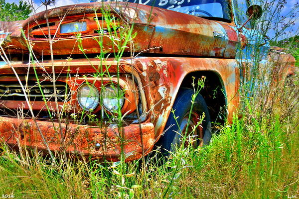 Photograph - 1961 Chevrolet Apache 10 3 by Lisa Wooten