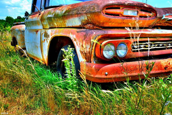 Photograph - 1961 Chevrolet Apache 10 5 by Lisa Wooten