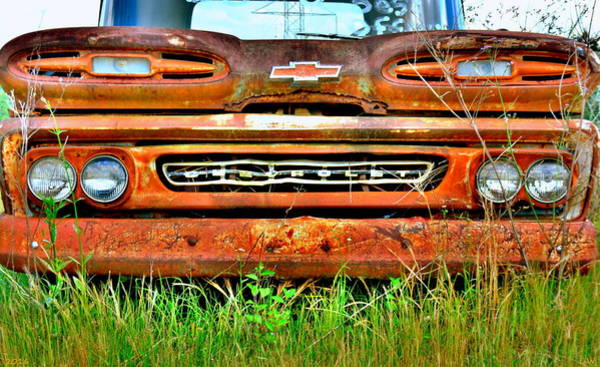 Photograph - 1961 Chevrolet Apache 10 by Lisa Wooten