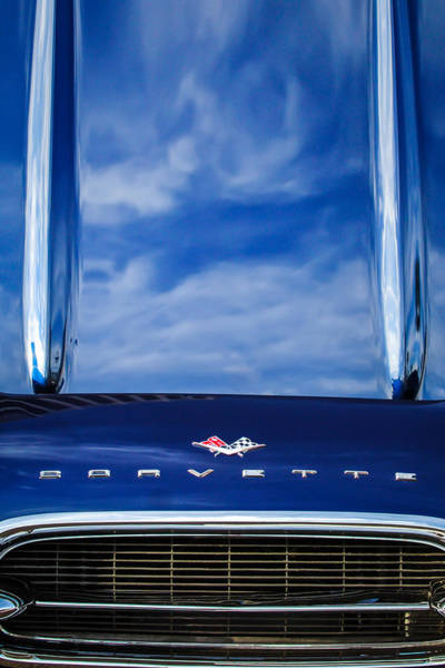 Photograph - 1961 Chevrolet Corvette Grille by Jill Reger