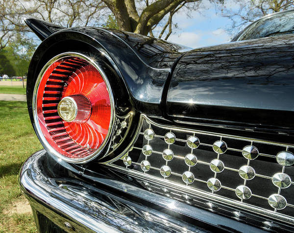 Frankenmuth Photograph - 1961 Ford Starliner Taillight by Wes Iversen