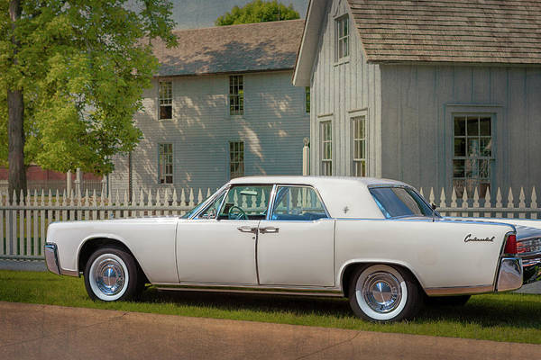 Photograph - 1961 Lincoln Continental by Susan Rissi Tregoning
