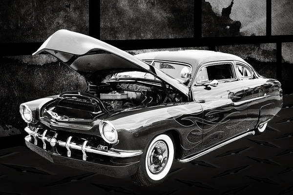 Photograph - 1951 Mercury Classic Car Photograph 004.01 by M K Miller