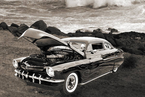 Photograph - 1951 Mercury Classic Car Photograph 005.01 by M K Miller