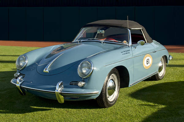 Photograph - 1961 Porsche 356 Roadster by Jill Reger