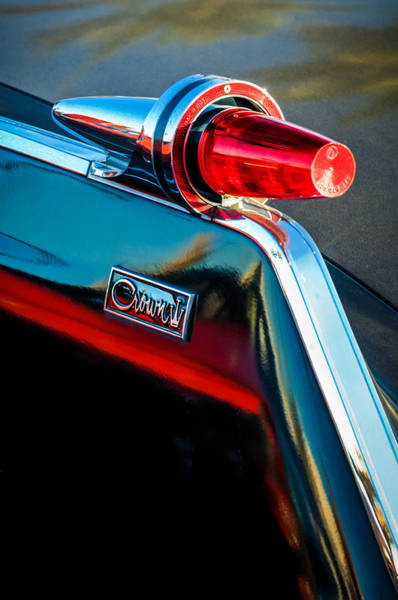 Photograph - 1962 Chrysler Imperial Crown Taillight -0551c by Jill Reger