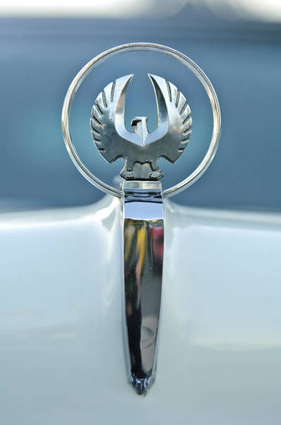 Photograph - 1962 Chrysler Imperial Hood Ornament by Jill Reger