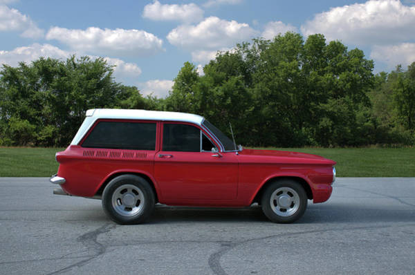 Photograph - 1962 Corvair Stubby Station Wagon by Tim McCullough