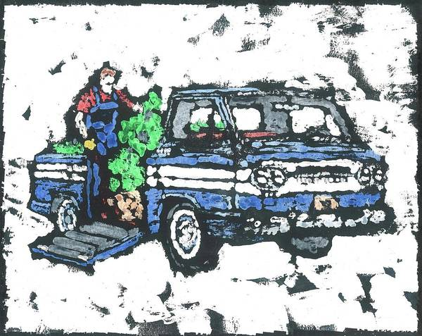 Wall Art - Painting - 1962 Corvan by Dick Gallagher