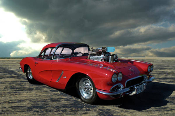 Photograph - 1962 Corvette Dragster by Tim McCullough