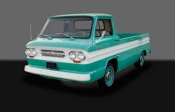 Corvair Photograph - 1963 Chevrolet Corvair 95 Rampside - 2 by Frank J Benz
