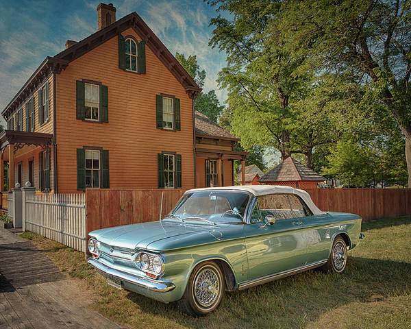 Photograph - 1963 Chevrolet Corvair by Susan Rissi Tregoning