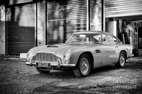 Photograph - 1963 Db5 by Tim Gainey