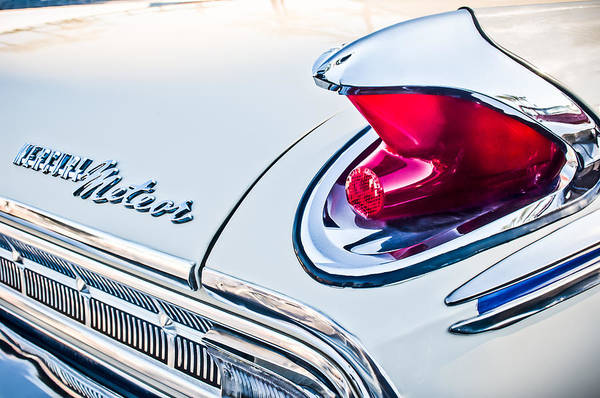 Photograph - 1963 Mercury Meteor Taillight Emblem by Jill Reger
