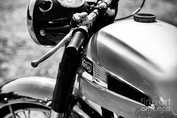 Wall Art - Photograph - 1963 Norton Dominator by Tim Gainey