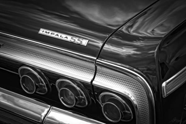 Wall Art - Photograph - 1964 Chevrolet Impala Ss by Gordon Dean II