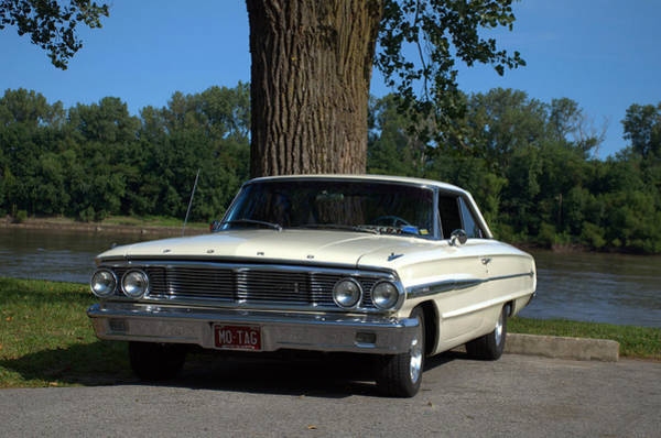 Photograph - 1964 Ford Galaxie by Tim McCullough