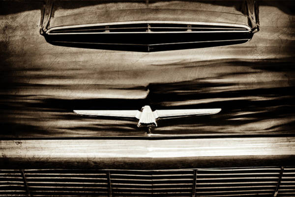 Photograph - 1964 Ford Thunderbird Emblem -0525s by Jill Reger