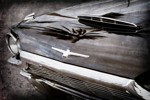 Photograph - 1964 Ford Thunderbird Grille Emblem -0519ac by Jill Reger