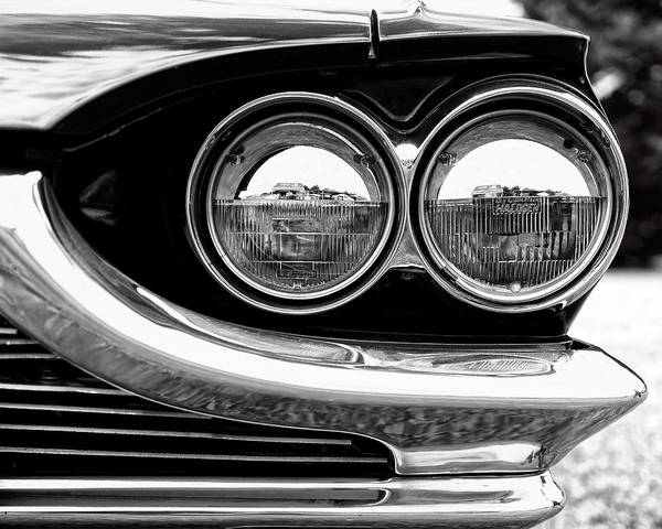 Wall Art - Photograph - 1964 Ford Thunderbird Headlight And Grille Detail by Jon Woodhams