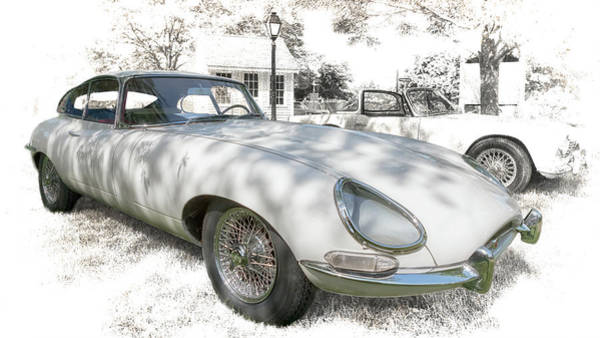 Photograph - 1964 Jaguar E Type by Susan Rissi Tregoning