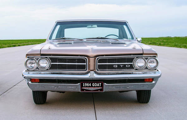 Wall Art - Photograph - 1964 Pontiac G T O - First Year Of Production by Daniel Hagerman