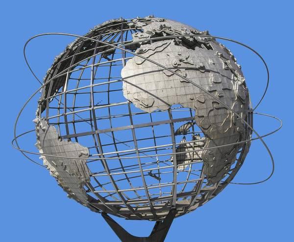 Photograph - 1964 World's Fair Unisphere by Bob Slitzan