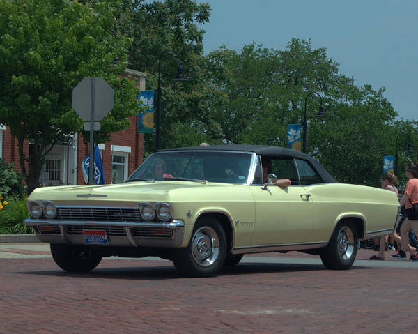 Photograph - 1965 Chevrolet Convertible by Tim McCullough