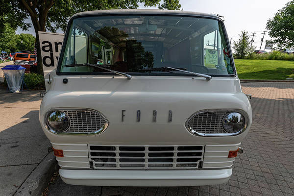 Photograph - 1965 Ford Econoline by Randy Scherkenbach