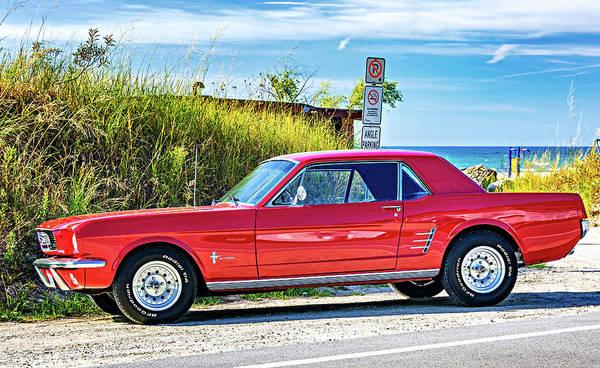 Sauble Beach Photograph - 1965 Mustang by Steve Harrington