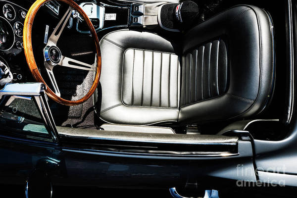 Photograph - 1966 Corvette Interior by M G Whittingham