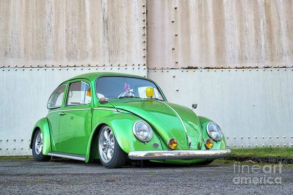 Wall Art - Photograph - 1966 Custom Green Beetle by Tim Gainey