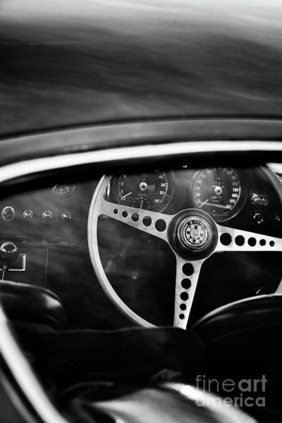 Photograph - 1966 E Type by Tim Gainey