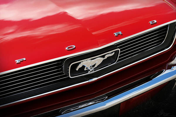 Wall Art - Photograph - 1966 Ford Mustang by Gordon Dean II