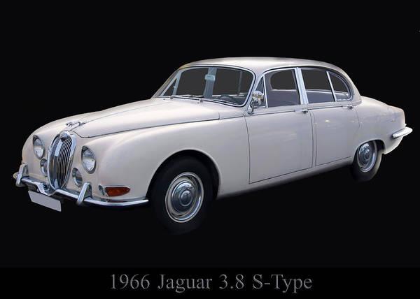 Photograph - 1966 Jaguar 3.8 S Type by Chris Flees